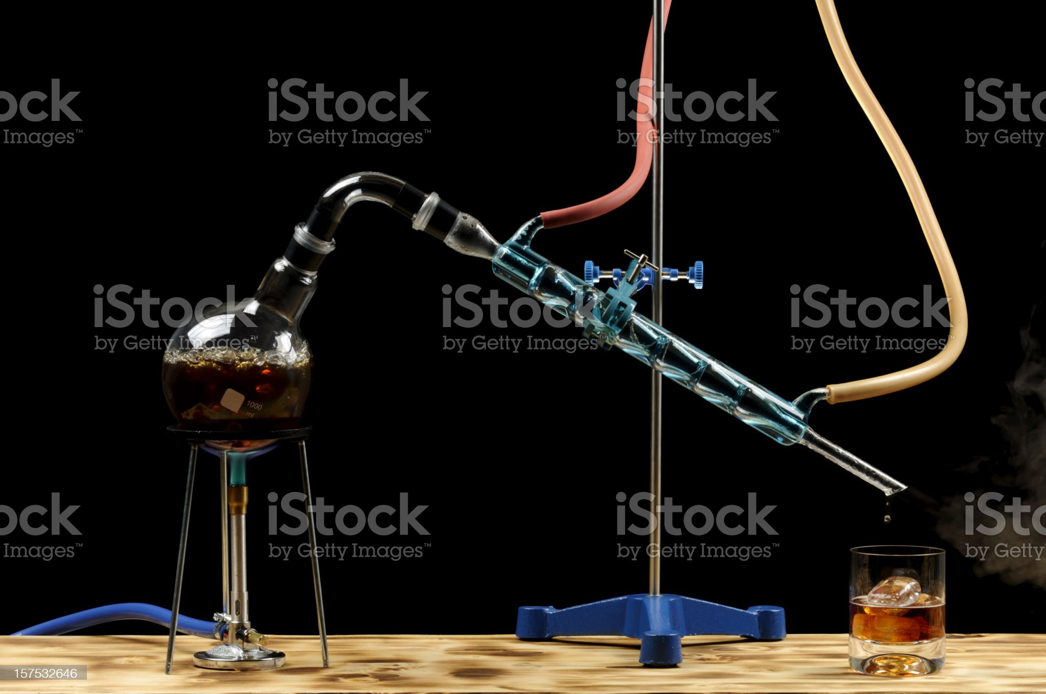 Whiskey Distillation royalty-free stock photo