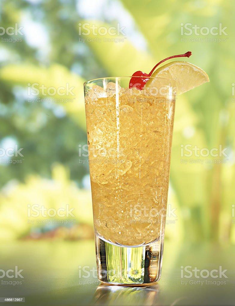 Whiskey Fix Cocktail stock photo
