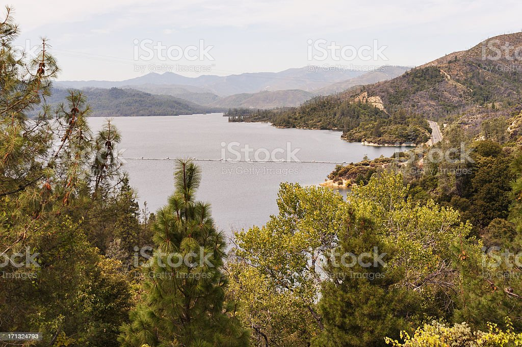 Whiskey lake in California on a clear day royalty-free stock photo