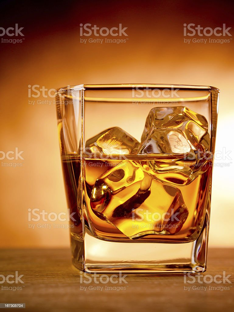 Whiskey royalty-free stock photo