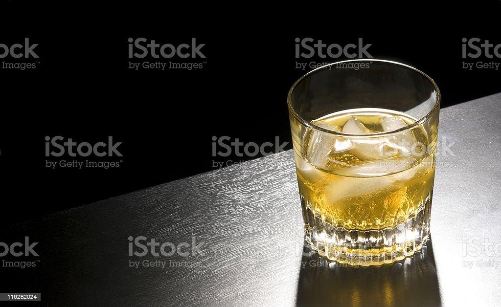 whiskey rocks royalty-free stock photo