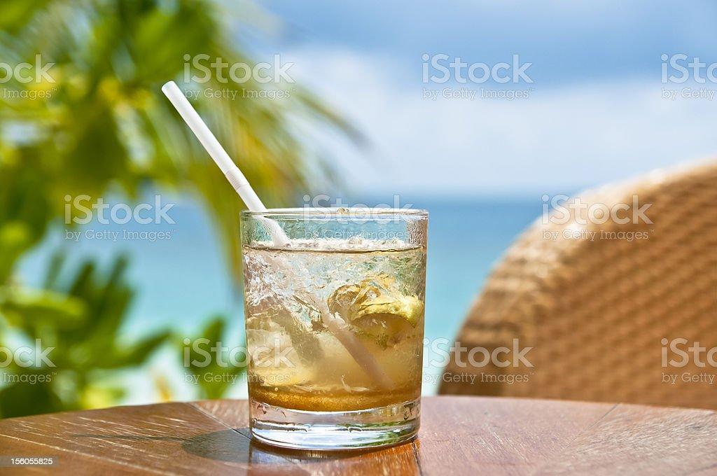 Whiskey sour royalty-free stock photo