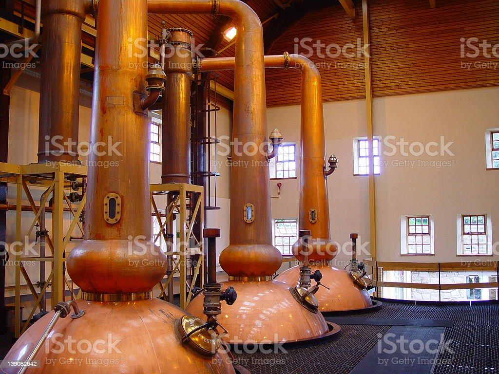 Whisky Distill stock photo