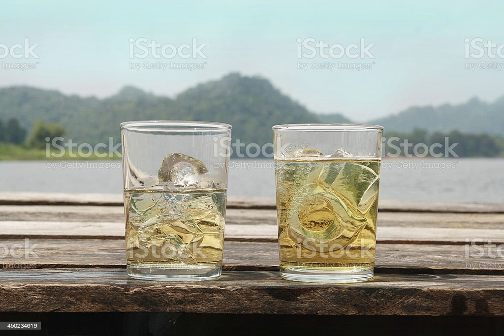 whisky glass stock photo