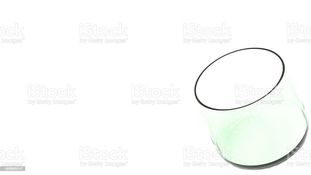 Whisky glass tumbler stock photo