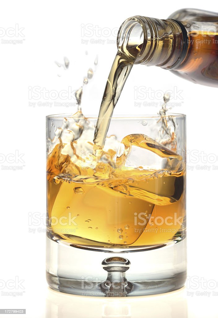 whisky royalty-free stock photo