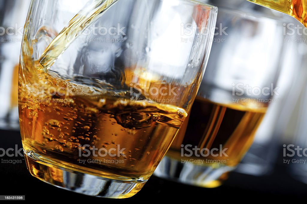 Whisky stock photo