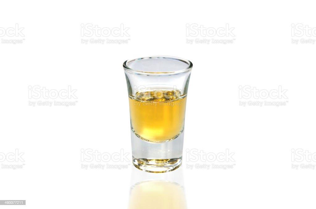 Whisky Shot stock photo