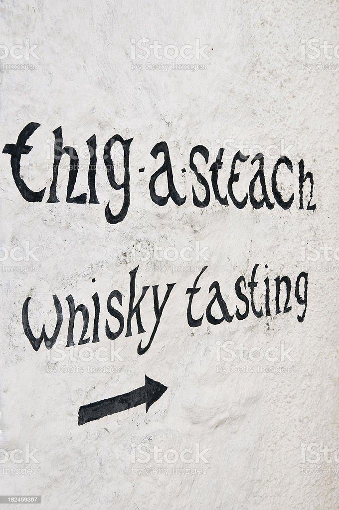 Whisky Tasting royalty-free stock photo
