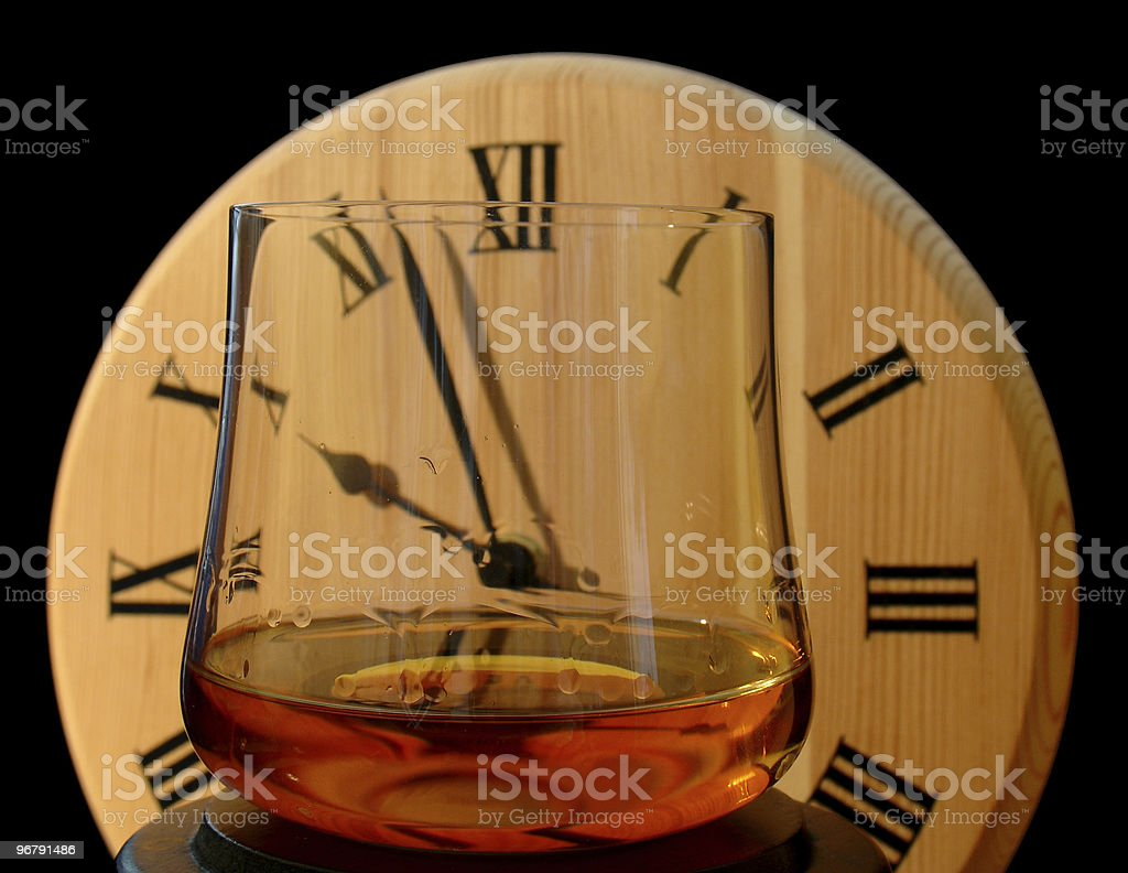 Whisky time 1 royalty-free stock photo