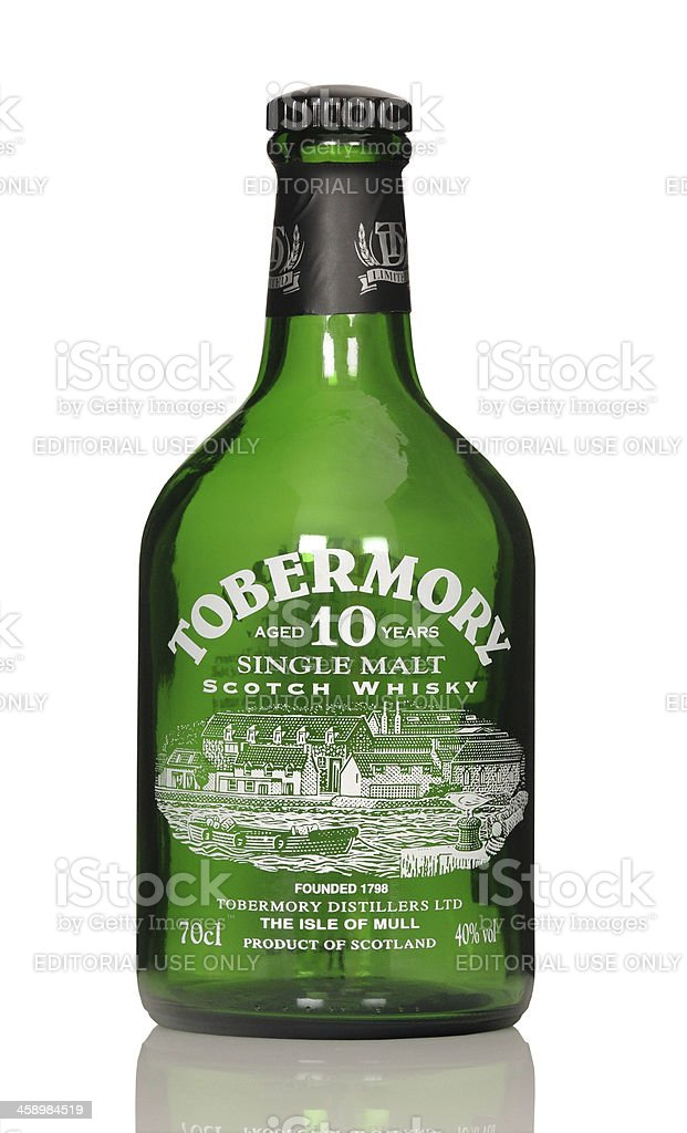 whisky Tobermory royalty-free stock photo