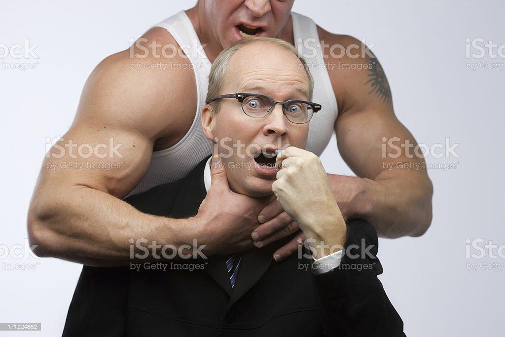 whistleblower intimidation stock photo