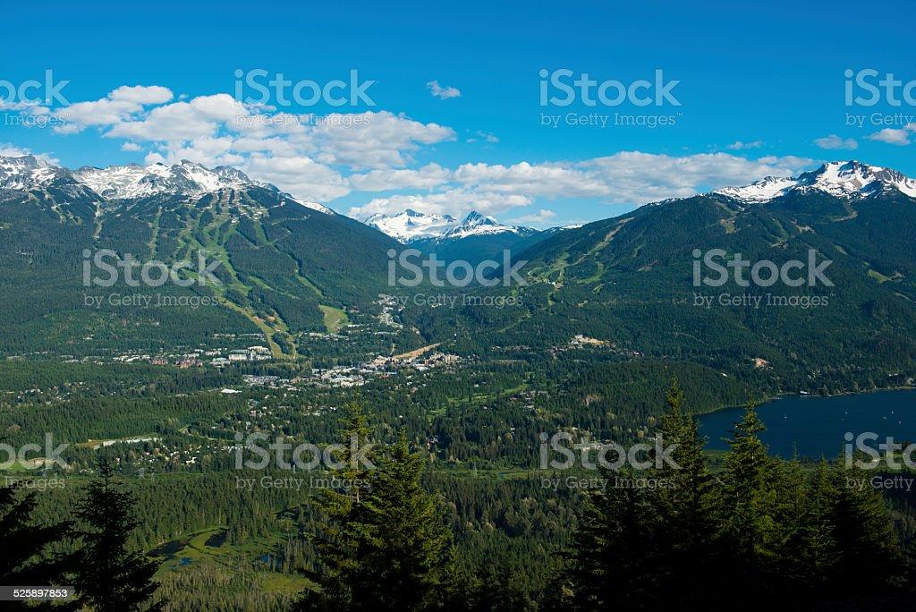 Whistler Blackcomb stock photo
