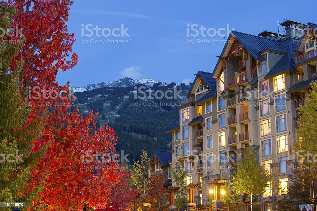 Whistler, Canada royalty-free stock photo