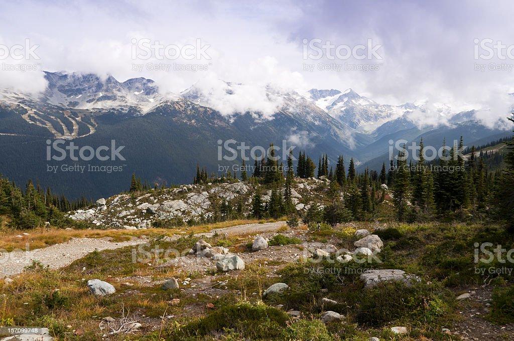 Whistler landscape stock photo