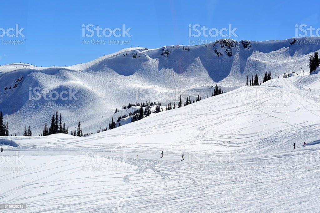 Whistler Mountain, British Columbia stock photo