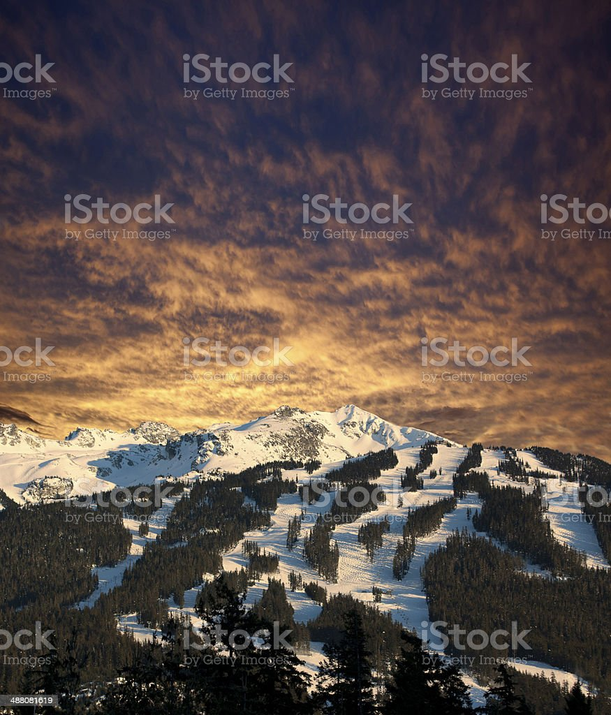 Whistler Mountain stock photo