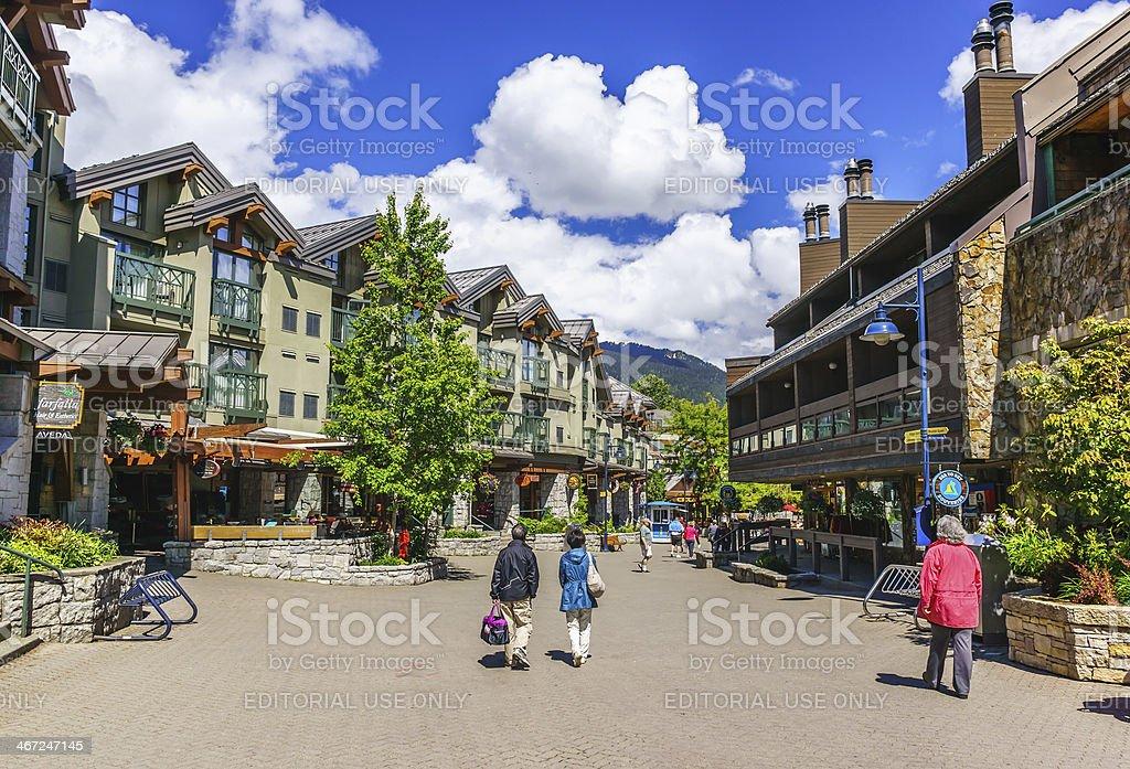 Whistler stock photo