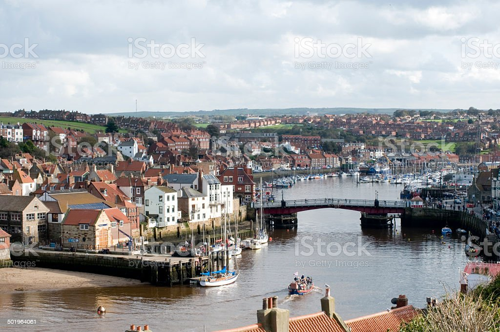 Whitby, North Yorkshire royalty-free stock photo