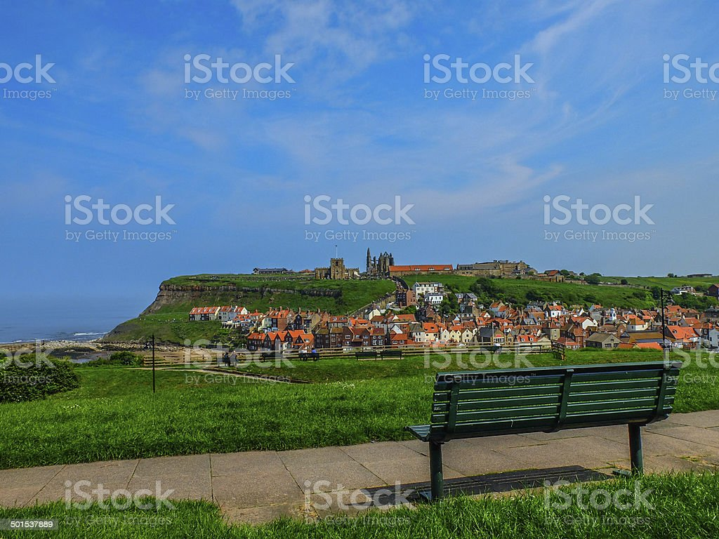 Whitby view royalty-free stock photo