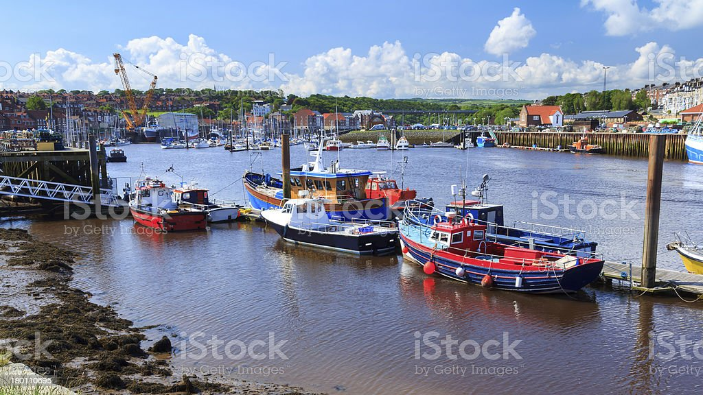 Whitby Yorkshire England UK royalty-free stock photo