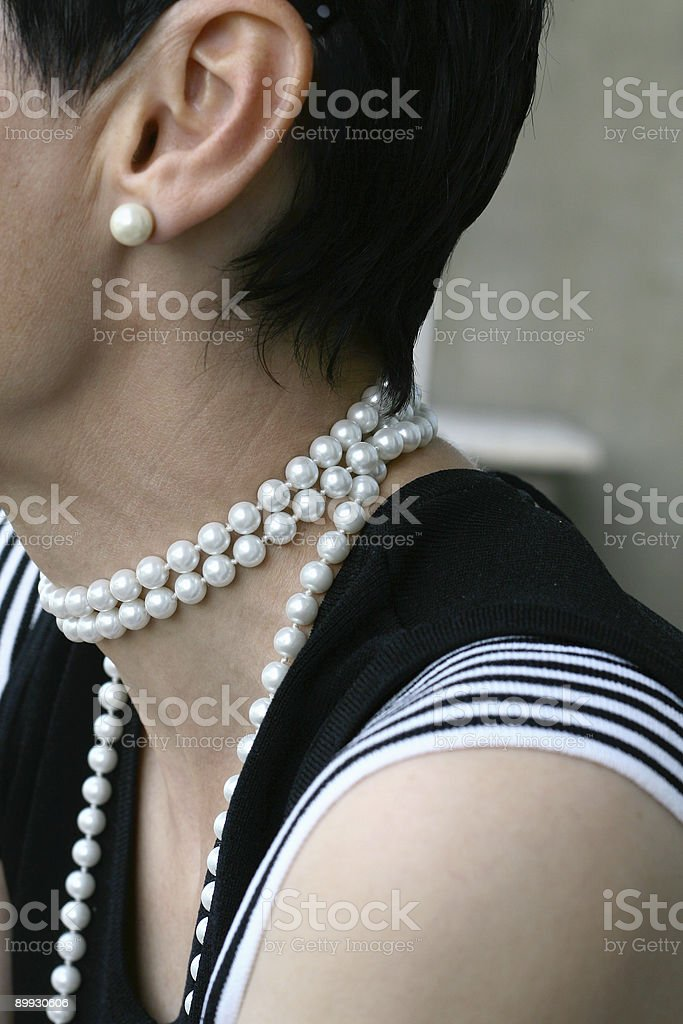 White and Black Combination stock photo
