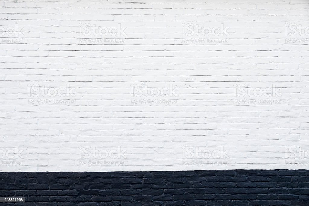 White and black wall stock photo