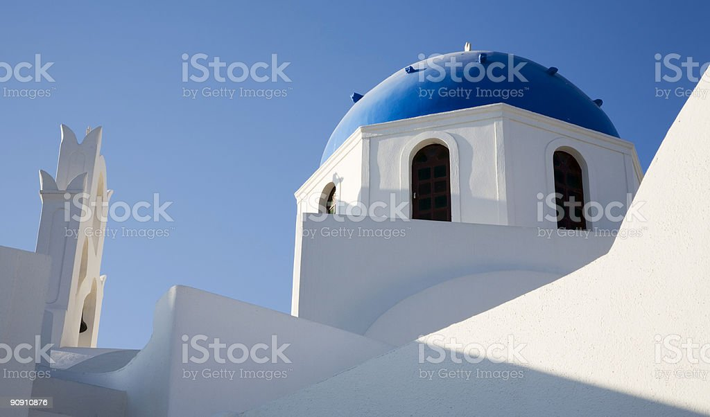 White and Blue royalty-free stock photo