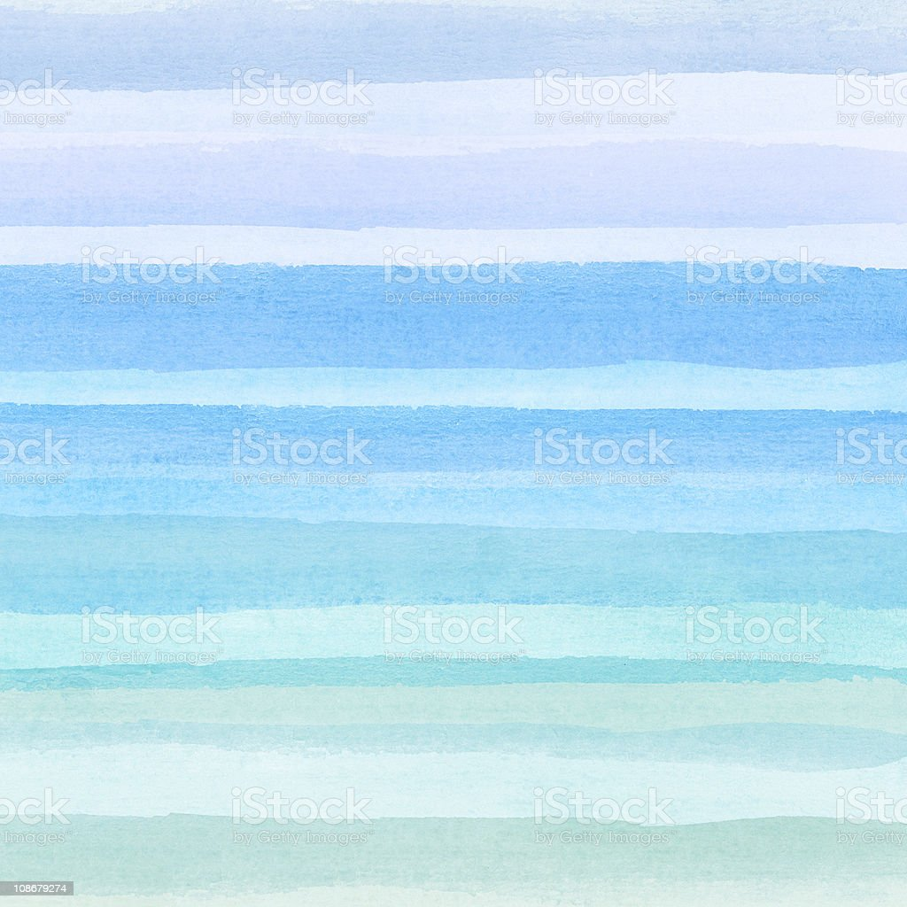 A white and blue watercolor background stock photo