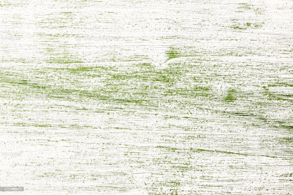 White and Green old painted wooden background. royalty-free stock photo