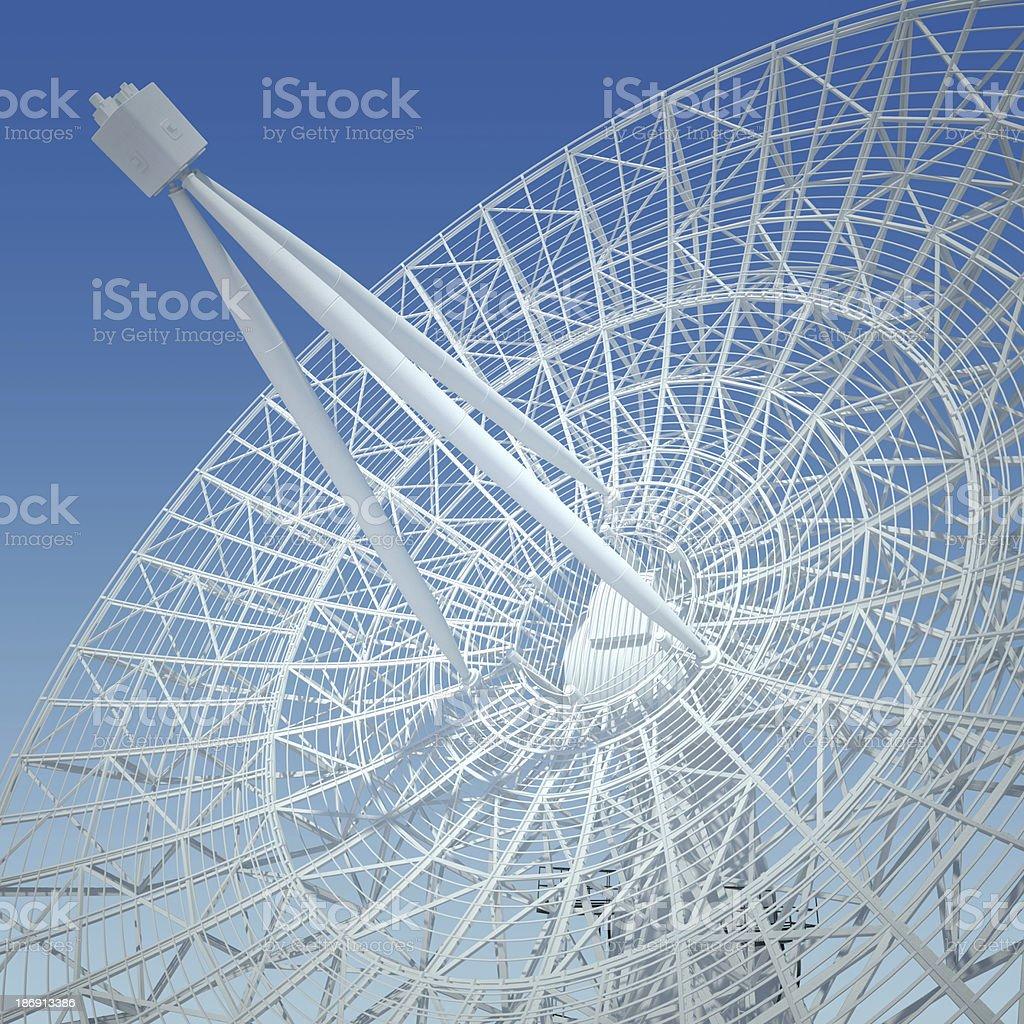 white antenna stock photo