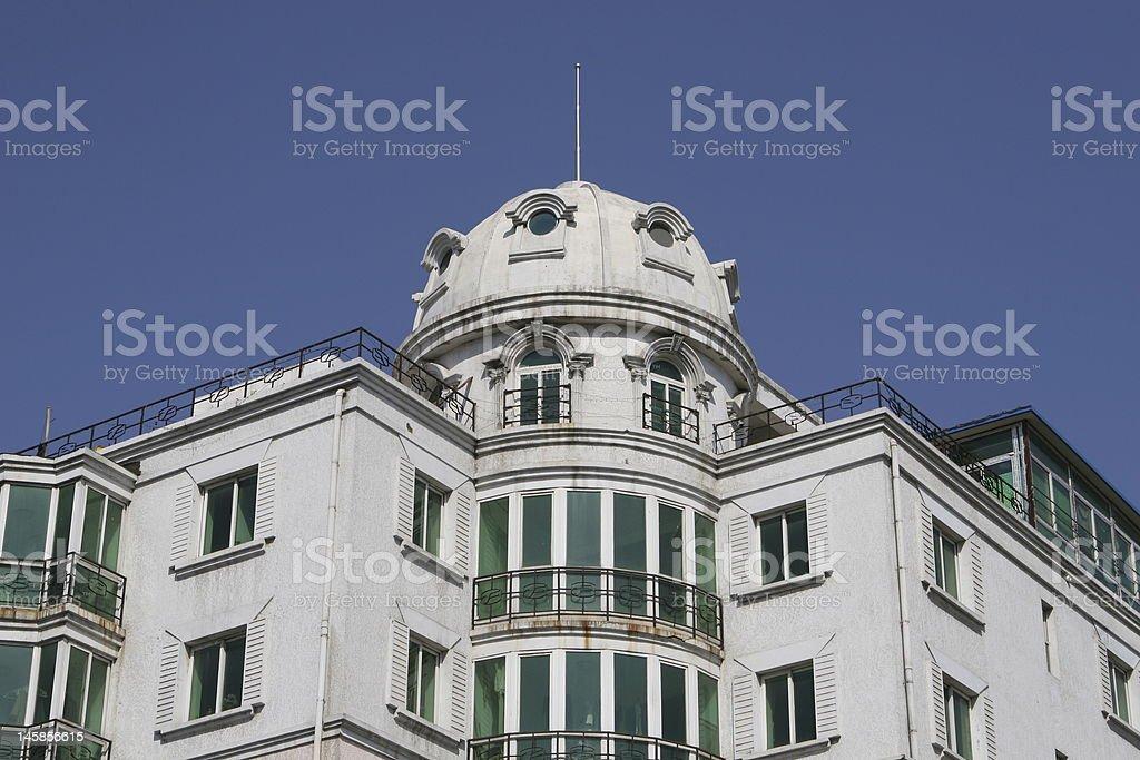 white apartment royalty-free stock photo