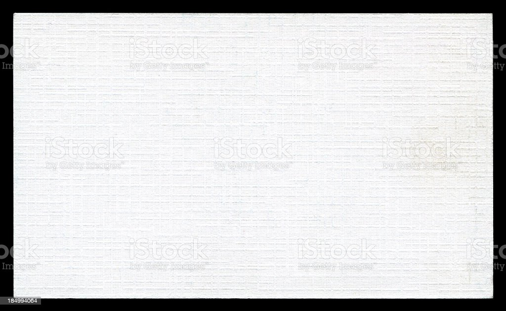 White art paper card background textured isolated stock photo