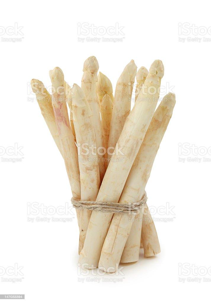 White asparagus royalty-free stock photo