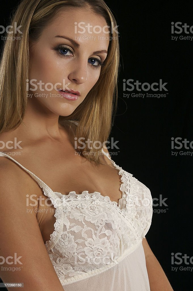White Baby Doll royalty-free stock photo