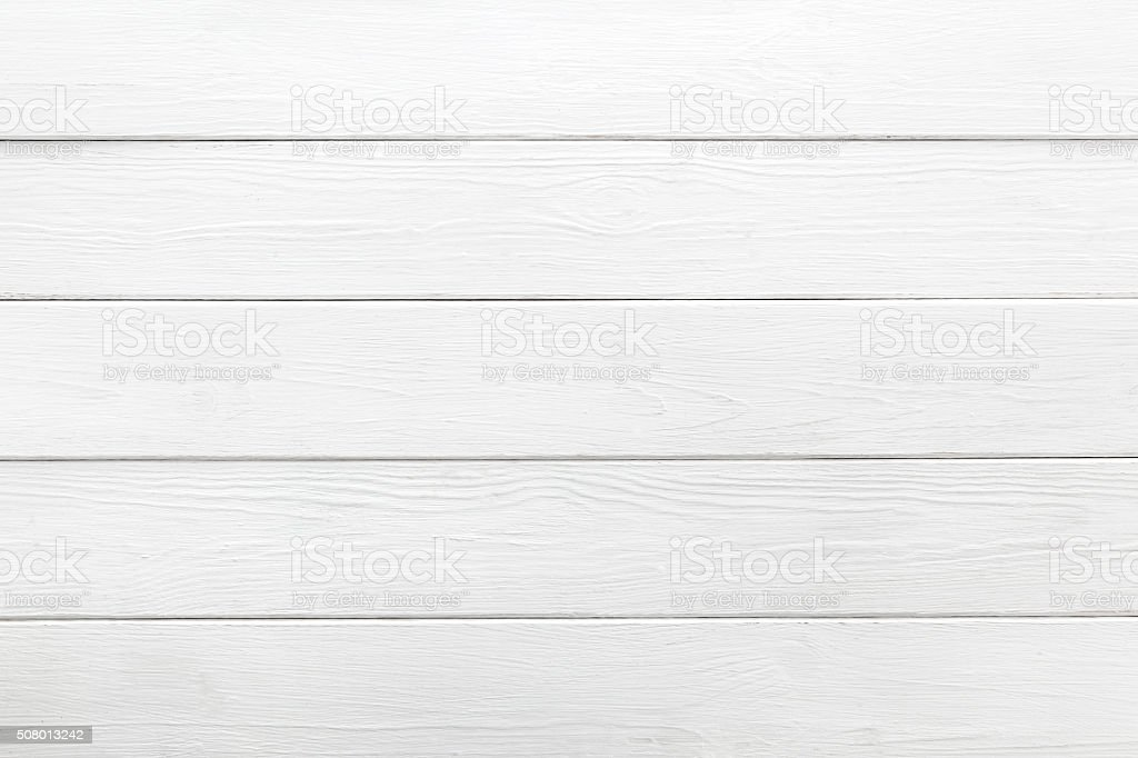 White background of wooden planks stock photo
