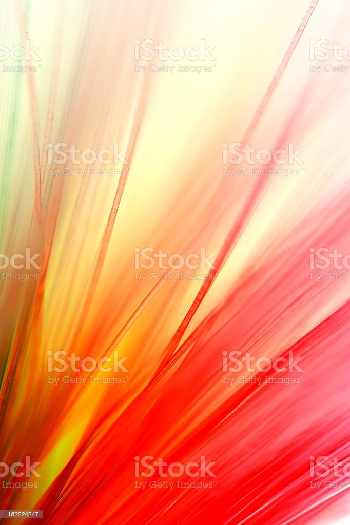 White background with colorful streaks royalty-free stock photo