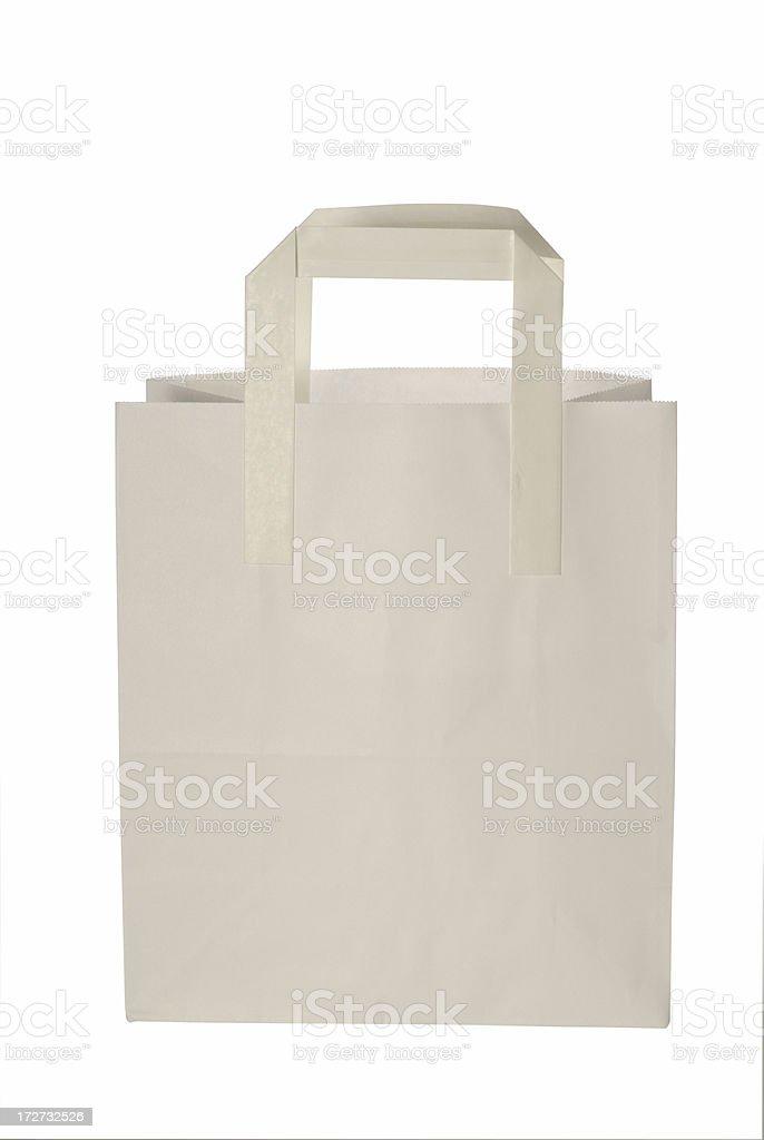 white bag royalty-free stock photo