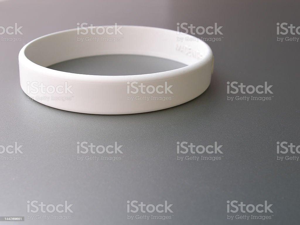 White band stock photo