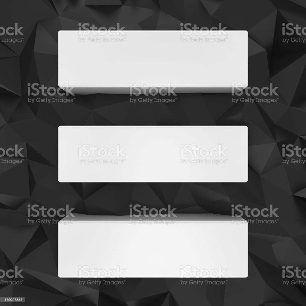 White bars on the black royalty-free stock photo