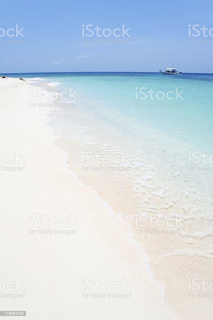 white beach blue sea royalty-free stock photo