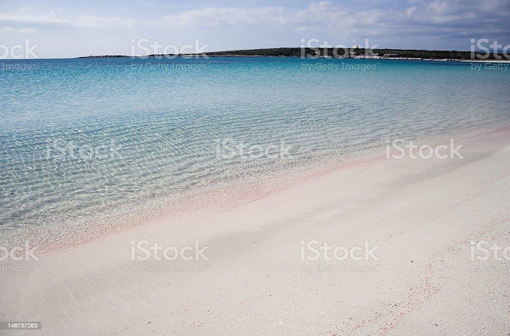 White beach. royalty-free stock photo