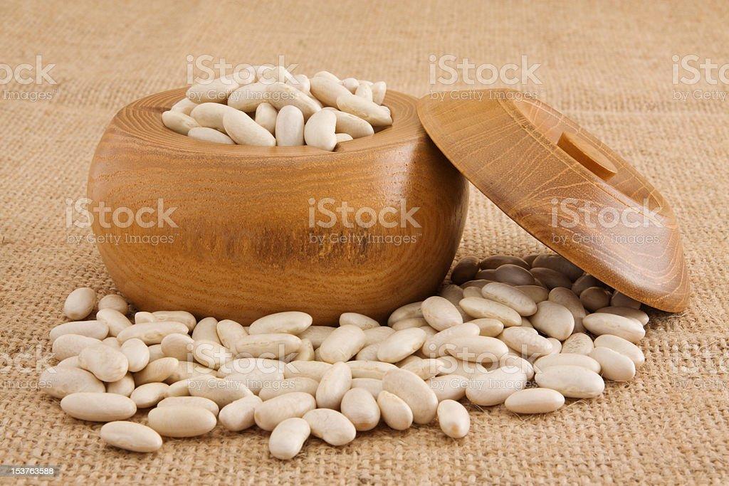 White beans royalty-free stock photo