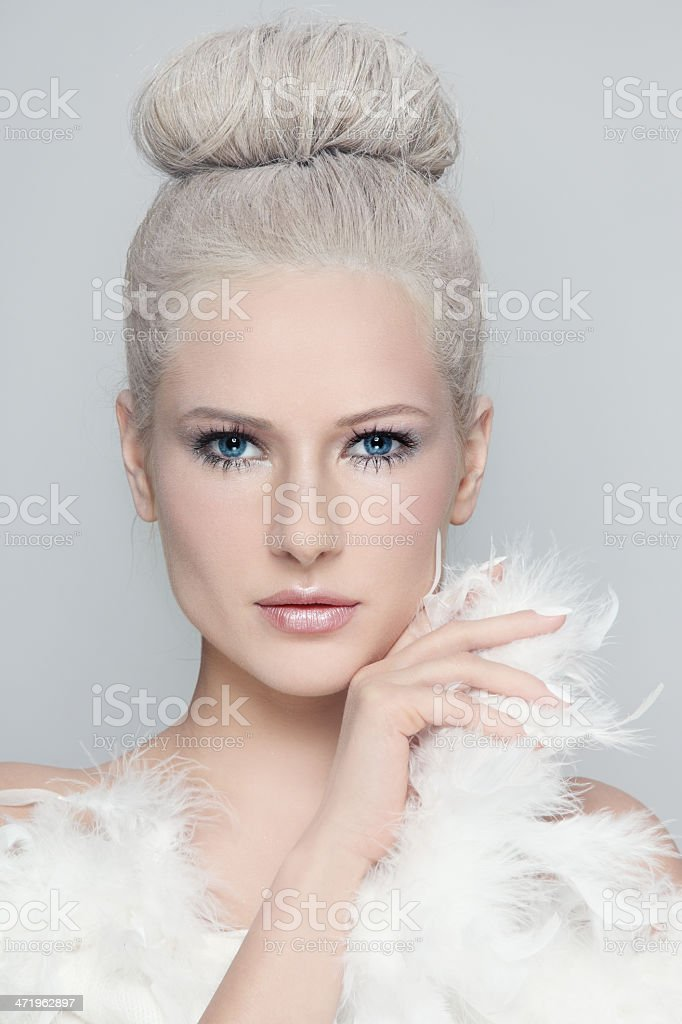 White beauty stock photo