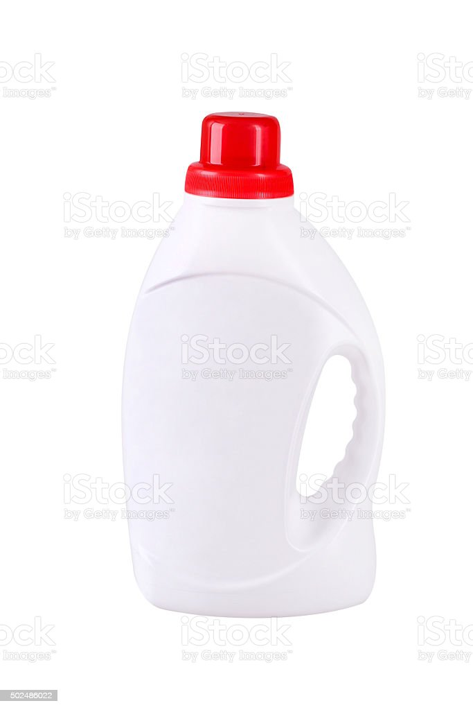 White blank  bottle stock photo