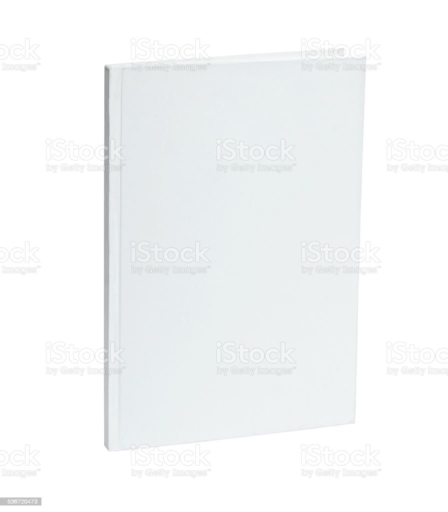 white blank notebook template stock photo