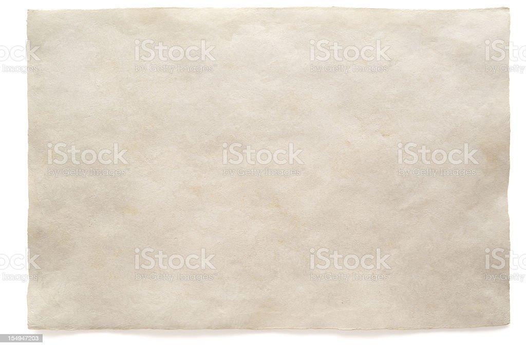 White blank sheet watercolour paper stock photo