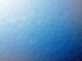 White blue gradient polygon shaped background