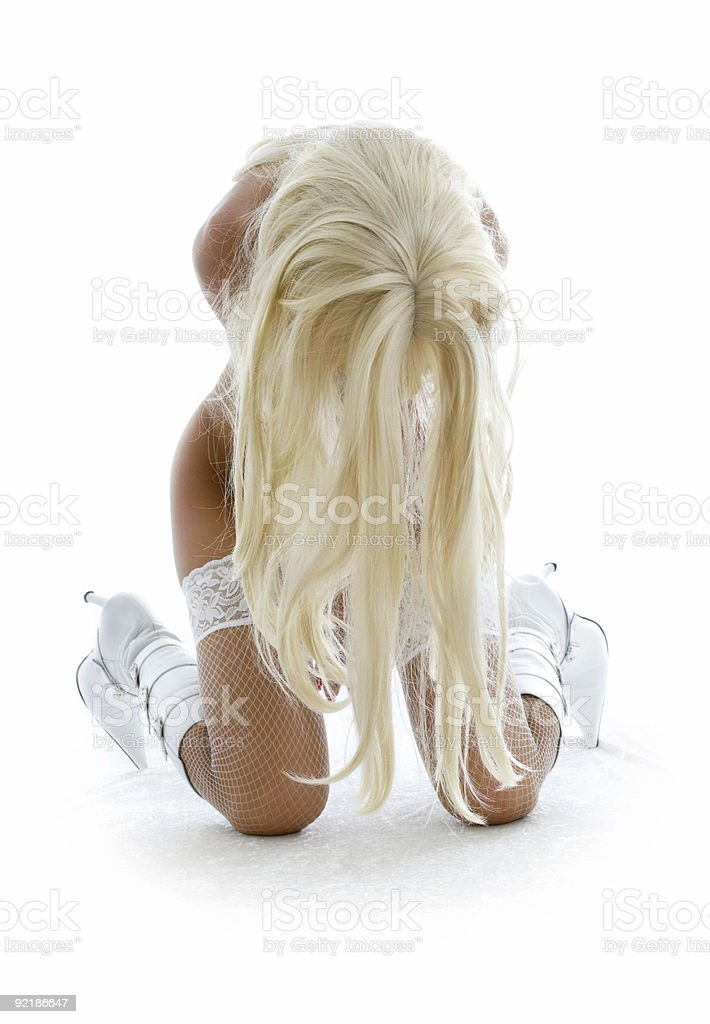 white boots royalty-free stock photo