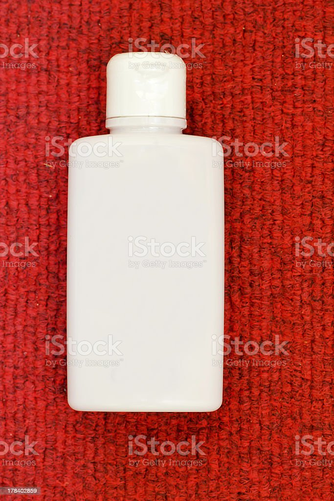white bottle royalty-free stock photo